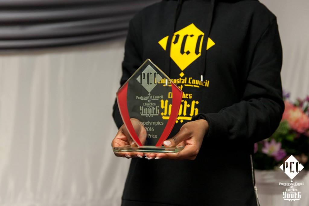 Gospelympics trophy