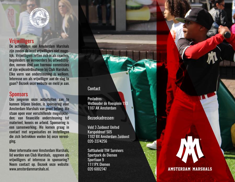Amsterdam Marshals handout back