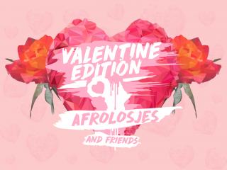 AfroLosjes' Valentine Day party
