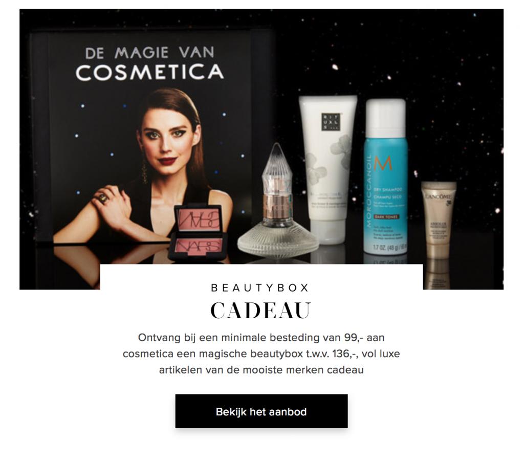 DB online publication of 'De Magie Van Cosmetica Beautybox'.